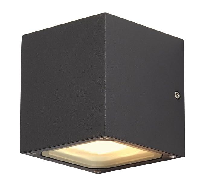 Slv Wandlampe Sitra Cube Fur Die Effektvolle Aussenbeleuchtung Von