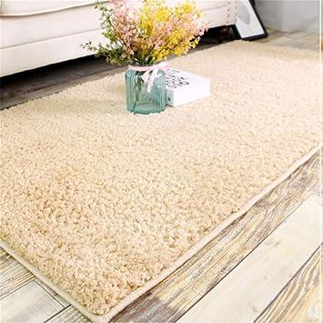 DIDIANX Einfarbig Western Style Teppich Wohnzimmer Schlafzimmer Nacht  Teppich Home Decke Moderne Einfache Rechteck Kaffeetisch Teppich
