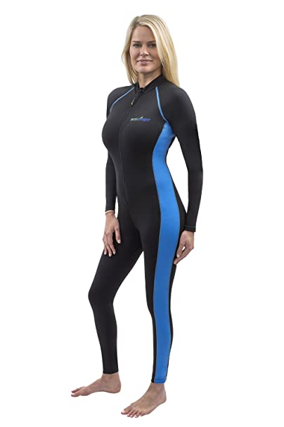 Amazon.com: Mujeres Stinger traje de baño de cuerpo completo ...