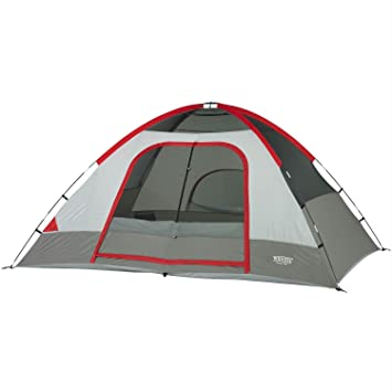 Wenzel Pine Ridge - 10u0027 x 8u0027 - 2 Room Family Tent  sc 1 st  Amazon.com & Amazon.com : Wenzel Pine Ridge - 10u0027 x 8u0027 - 2 Room Family Tent ...
