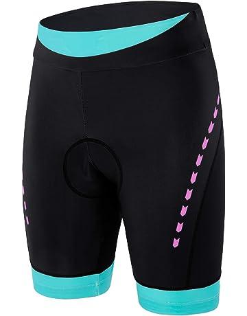 e0ff933fa4 beroy Womens Bike Shorts with 3D Gel Padded,Cycling Women's Shorts