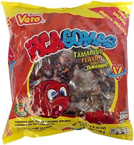 Pica Gomas Tamarindo Bolsa de 100: Amazon.es: Alimentación y bebidas
