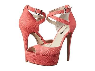 418a5cf278a Amazon.com | BCBGeneration Vix2 Starfish Etched Leather Heels Women ...