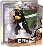 McFarlane Toys NFL Sports Picks Series 28 Action Figure Drew Brees (New Orleans Saints) All Black Uniform AllStar Collector Level Chase