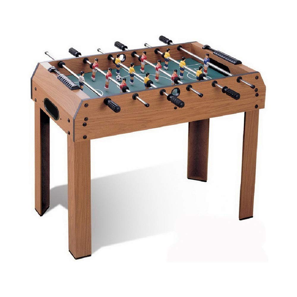 Multi Person Table Soccer Adults Recreational Foosball Games Game Rooms Game Table with Billiards Foosball (Color : Color, Size : 94x51x75cm) by Forgiven