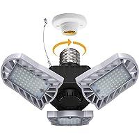 Blusmart 60W 7500lm Adjustable Three-Leaf Garage Light