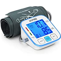 HOMIEE Blood Pressure Monitor with 3.4 Inch Backlight LCD Display, Upper Arm Blood...