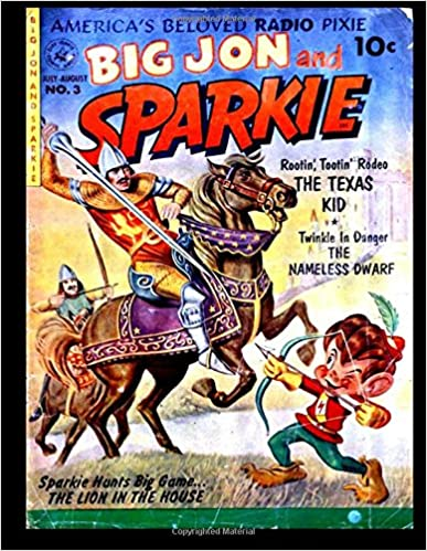 Book Sparkie 3: Golden Age Children's Comic 1952