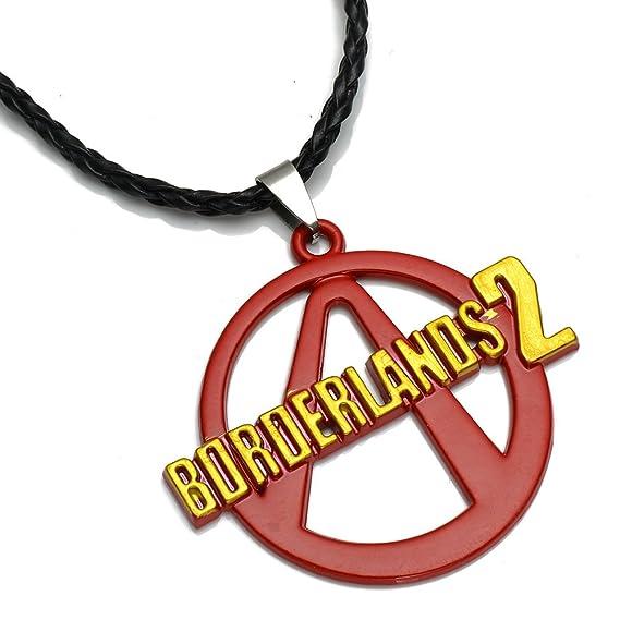 Amazon Ps3 Game Borderlands 2 Logo Alloy Necklace Pendant