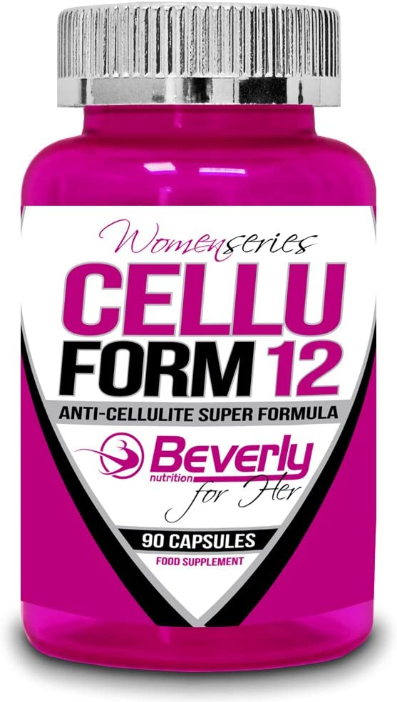 Beverly Nutrition Cellu Form Quemador de Grasas, Anti-Celulitis - 90 Cápsulas