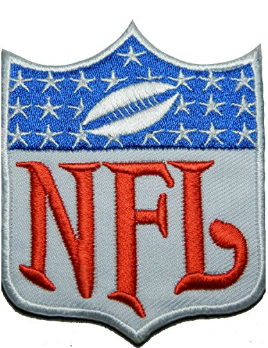 National Football Leagues NFL Sew White Patch Sew Iron on Logo Embroidered Badge Sign Emblem Costume BY Dreamhigh_skyland