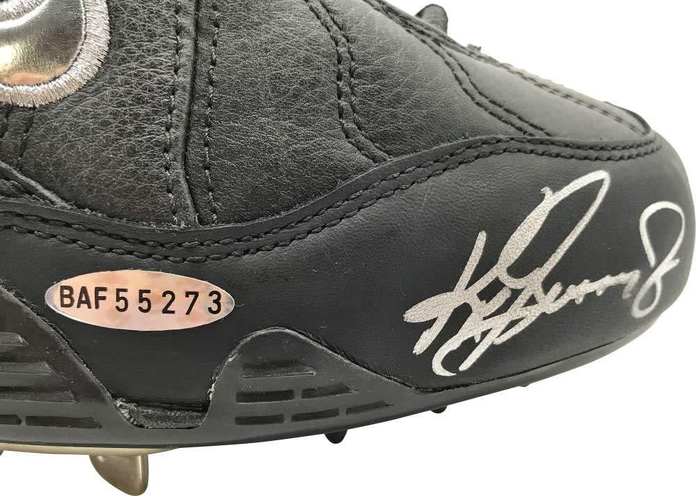 Ken Griffey Jr Signed Autographed LE Baseball Cleat UDA Upper Deck