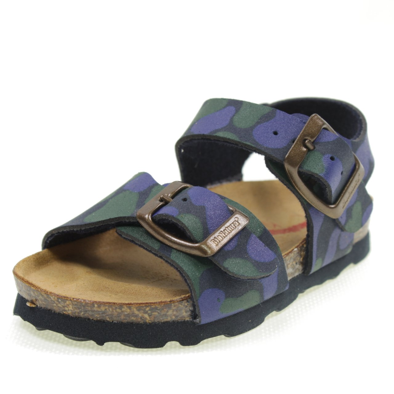 los angeles detailed images pick up Bionatura Sandales avec Boucles Type Birk MIMETIQUE Made in ...