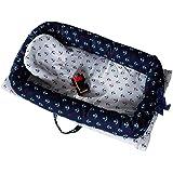 ベビーベッド 新生児用 ベッドマット 枕付き 転落防止 洗濯可能 折りたたみ 取り外し可能 スリーピング&プレイ 出産お祝い