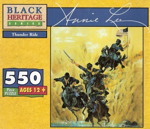 Black Heritage Series Puzzle The Art of Annie Lee THUNDER RIDE 550 ()