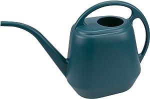 Fasmov Plastic Watering Can, 1-Gallon, Green