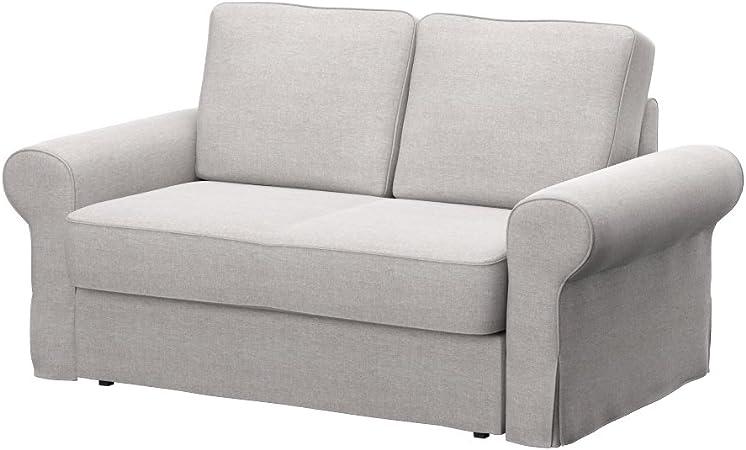 Soferia - IKEA BACKABRO Funda para sofá Cama de 2 plazas, Classic ...