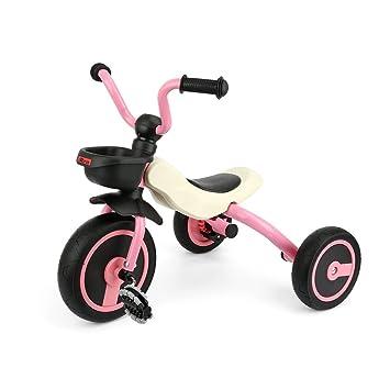 Triciclo de niños plegable para niños de 2 a 5 años Plegable de 3 ruedas Trike