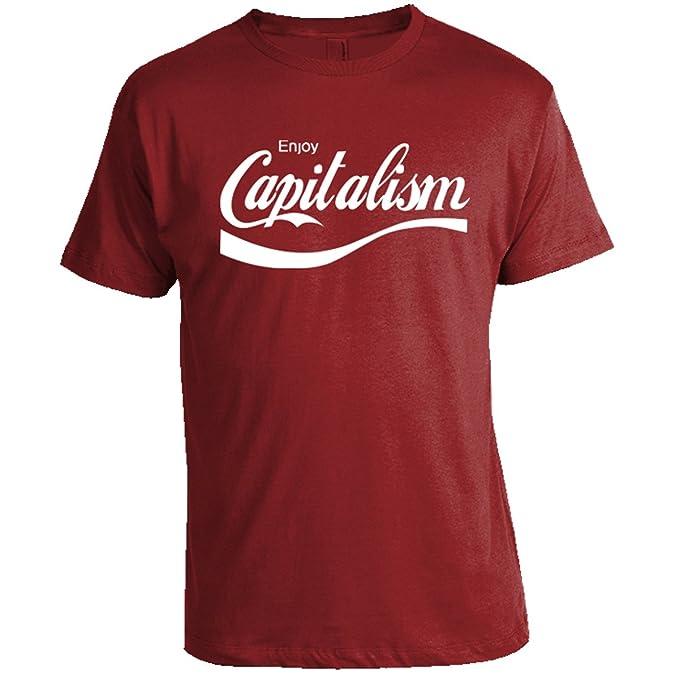 40e00335c Amazon.com  Enjoy Capitalism T-Shirt - Libertarian Shirts ...