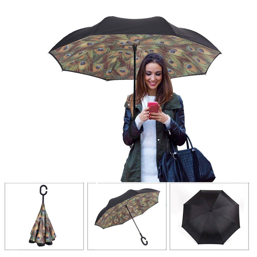 parapluie inversé pour femme