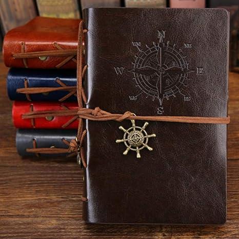 Kdyi Agenda del Cuaderno 2018 Vintage Pirate A5 Agenda con ...