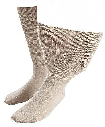IOMI - 1 pares hombre diabeticos edema calcetines sin elasticos costuras para la circulacion: Amazon.es: Ropa y accesorios