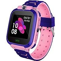Reloj Inteligente para Niños con Posicionamiento LBS- SOS Anti-Lost Children's Smartwatch Phone Compatible para Android…