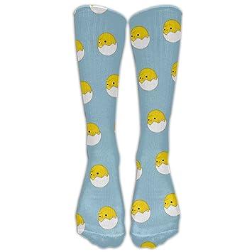 Calcetines unisex de gallina amarilla divertidos y cómodos para regalo: Amazon.es: Hogar