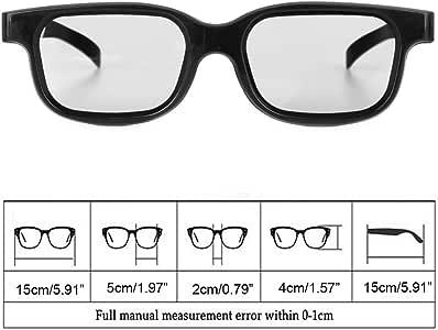 WEISHAZI - Gafas 3D pasivas polarizadas de alta calidad para televisores 3D: Amazon.es: Hogar