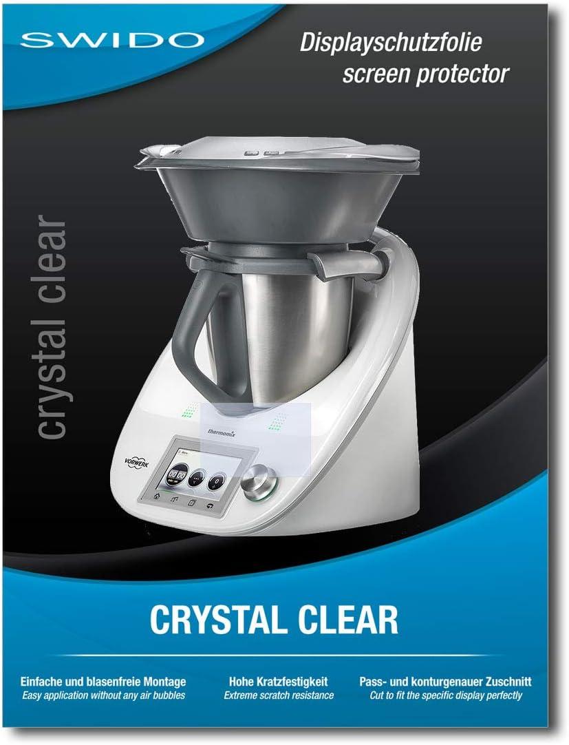 SWIDO Protector de Pantalla para Vorwerk Thermomix TM5 [Crystal ...