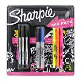 Sharpie Combo Pack Permanent Markers, Sharpie Pens and Highlighters