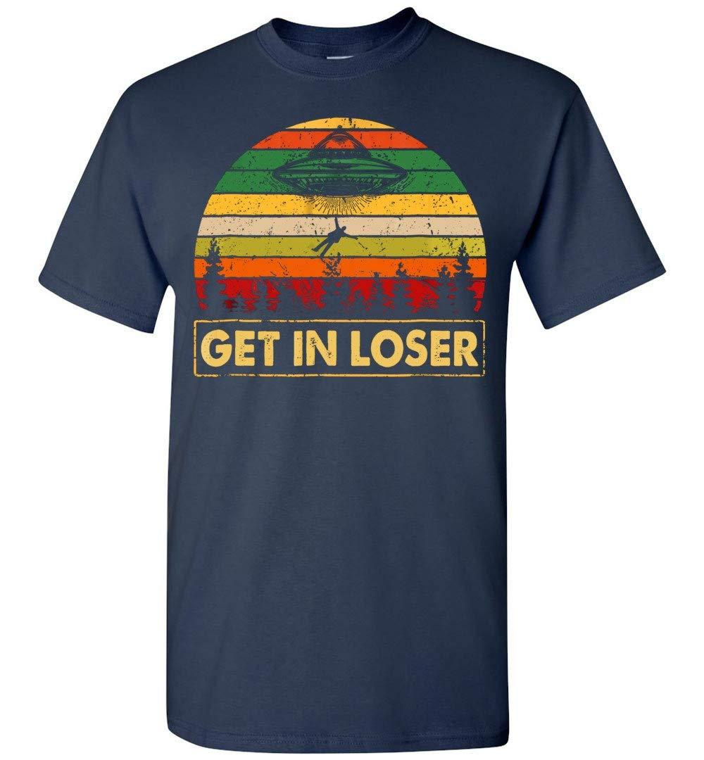 Get In Loser Vintage T Shirt Adult