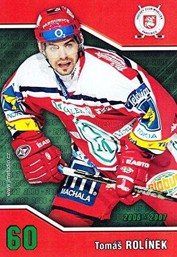 fan products of (CI) Tomas Rolinek Hockey Card 2006-07 Czech HC Pardubice Postcards 18 Tomas Rolinek
