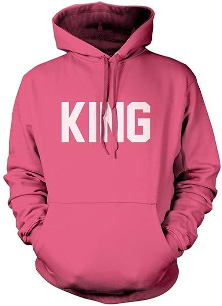 HotScamp King - moda Hipster Tumblr - niños sudadera con capucha: Amazon.es: Ropa y accesorios