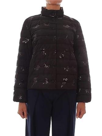 EMME MARELLA Piumino Donna 54860689BLACK Poliestere Nero  Amazon.it   Abbigliamento 5fd68ecc9c6c