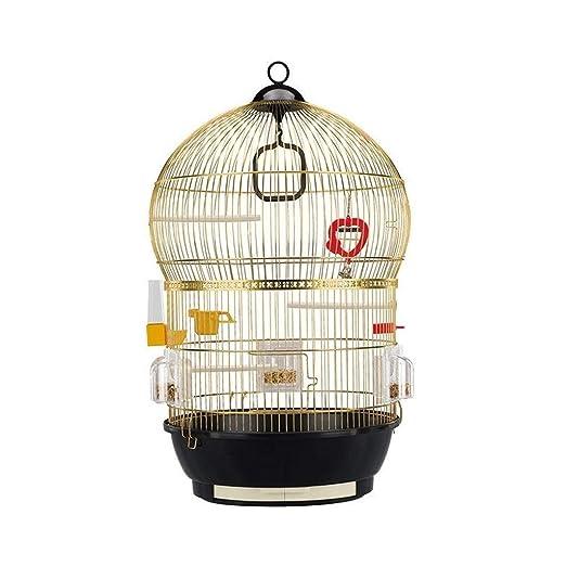 Liutao Jaulas para pájaros Jaula de pájaros de Acero Inoxidable de ...