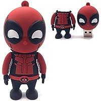 Pen drive 32gb Deadpool Super Herói Marvel DC Filme USB 2.0