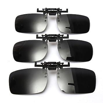 Lentes de espejo polarizadas Aptoco antibrillos, protección UV, para conducción y