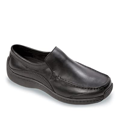 KLOGS Sierra Mens Casual Comfort Loafers Slip Ons Shoes Leather Black
