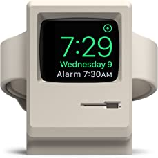 elago W3 Stand for Apple Watch Series 4 (2018) / Series 3 / Series 2 / Series 1 / 44mm / 42mm / 40mm / 38mm [Nightstand Mode][Original Design Awards][Patent Pending] - White