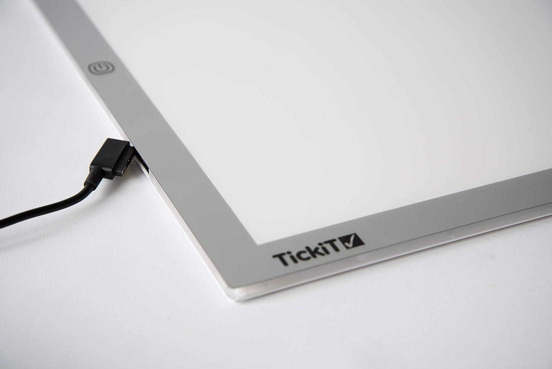 Tickit 73048/A2/Light panel Tickit 72395/Jumbo miscelazione Shape Board diametro 200/mm confezione da 6