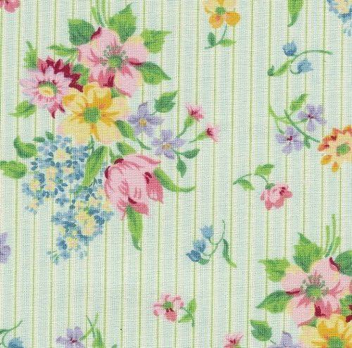 Longaberger Heirloom Floral LARGE RECIPE Basket Liner ~ Brand New in Bag!
