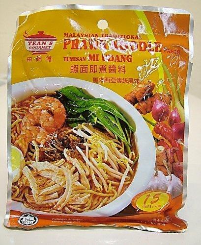 Variety Malaysian Traditional Gourmet Paste, 7oz x 4 pks, Prawn Noodle, Curry Laksa, Vegetarian Curry Paste, Stir Fry Sauce - Prawn Noodle