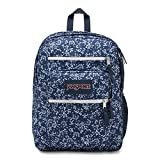 JanSport Unisex Big Student Oversized Backpack Navy Field Floral