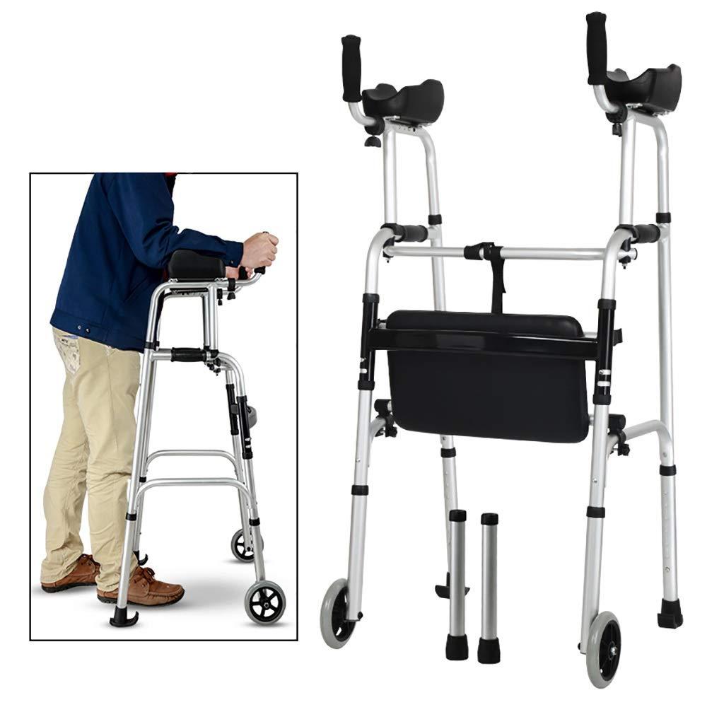 FKDErollator Ayuda de Movilidad para Caminar, Bastidor Plegable de ...