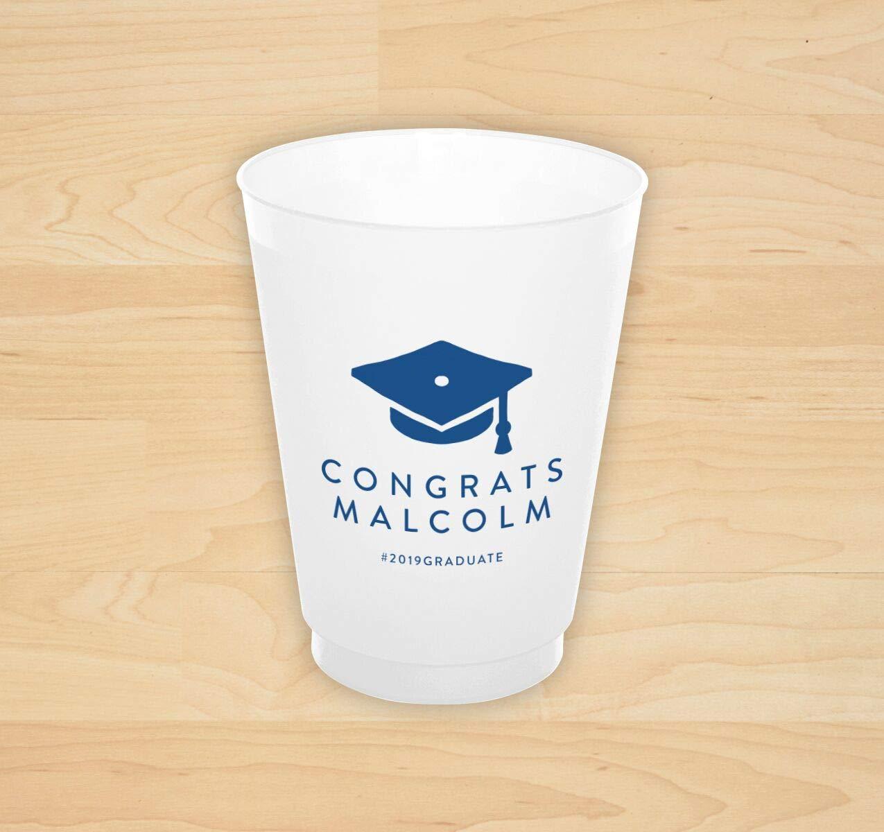 Congrats Cap Grad Cup - Set of 50-4180