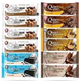 quest protein bars variety pack - Quest Nutrition Protein Bar - Chocolate Lovers Variety Box of 12 (Packaging may vary)