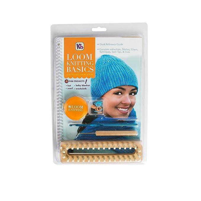 Viridian Loom Knitting Basics Kit Amazon Kitchen Home