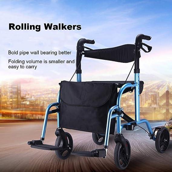 SED Trolley Auxiliar Sillas de Ruedas Walker el Andador de ...