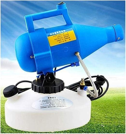Eléctrico ULV Nebulizador Rociador de Jardín, 4L Portátil Ultra Fino Nebulizador Eléctrico Atomizador Pulverizador for Interiores y Exteriores (Size : 220V): Amazon.es: Hogar